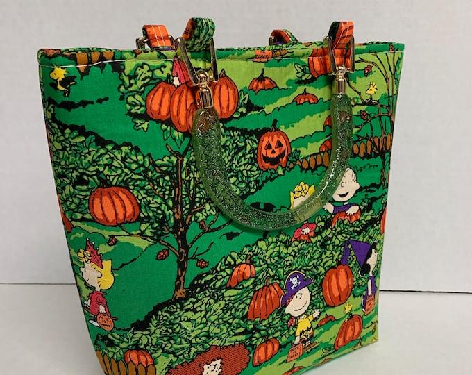 Great Pumpkin Charlie Brown - Tote Bag - Purse - Handbag