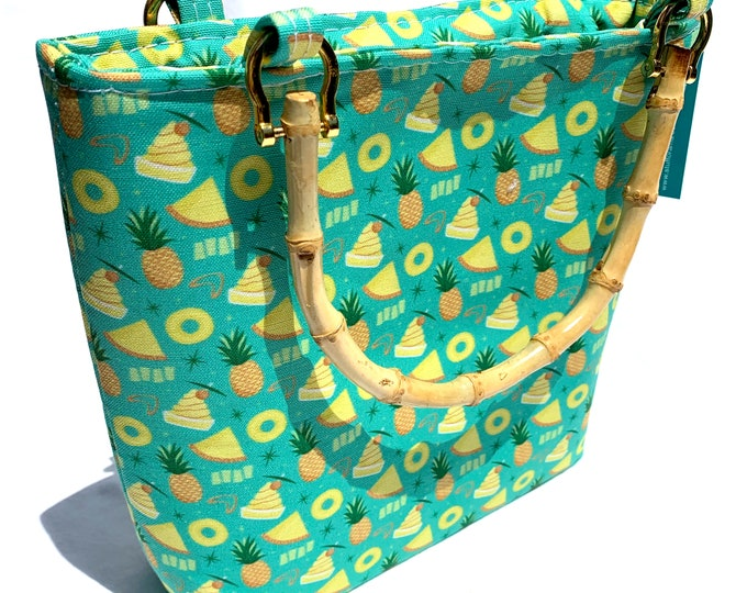 Handbag - Pineapple Party by Dapper Dino