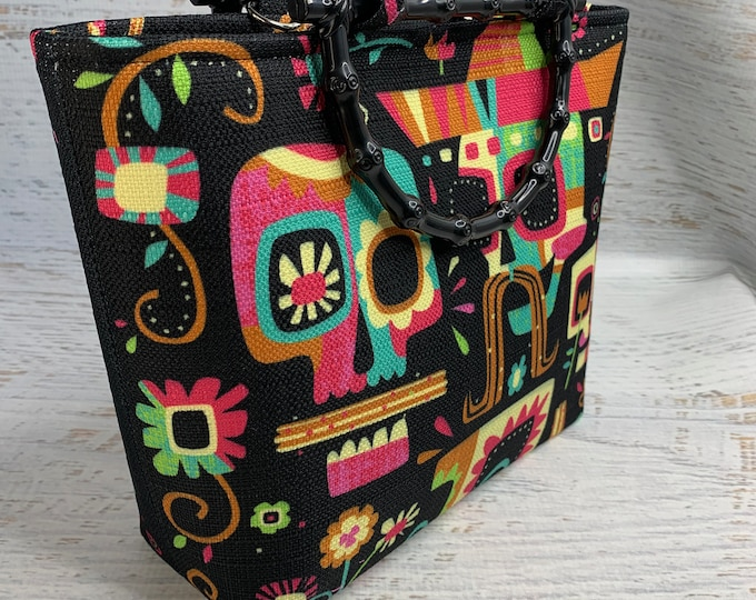 Dia De Los Churros by Jeff Granito Designs - Tote Bag - Purse - Handbag - Crossbody - Canvas - Tiki - MCM - MidCentury - Disney