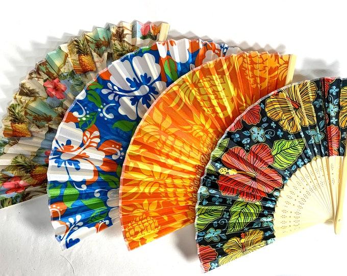 Bamboo Folding Hand Fans