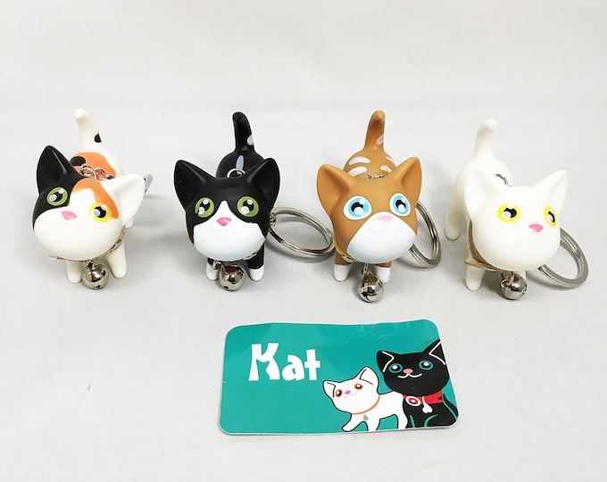 KOMi Kawaii Cat Keychains