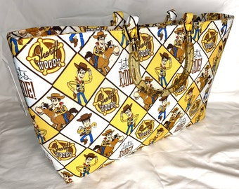 Toy Story - Sheriff Woody Lets Ride - Tote Bag - Purse - Handbag
