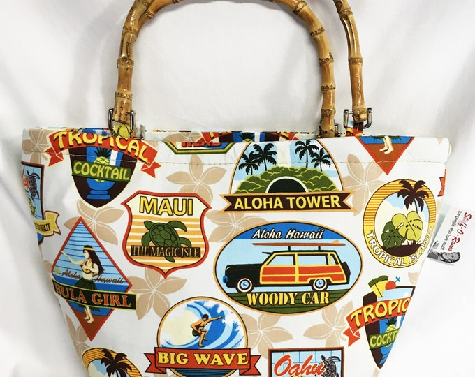 Handbag - Hawaiian Labels