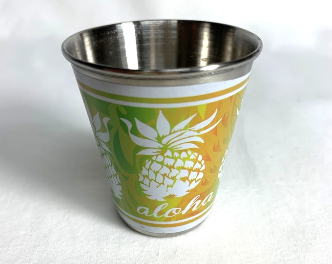 Shot Glass - Pineapple Aloha