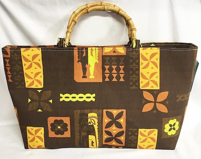 Mid-Century Tikis by Michael Uhlenkott - Tote Bag - Purse - Handbag