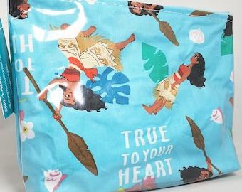 Make Up Bag - Moana True to Your Heart Zipper Pouch