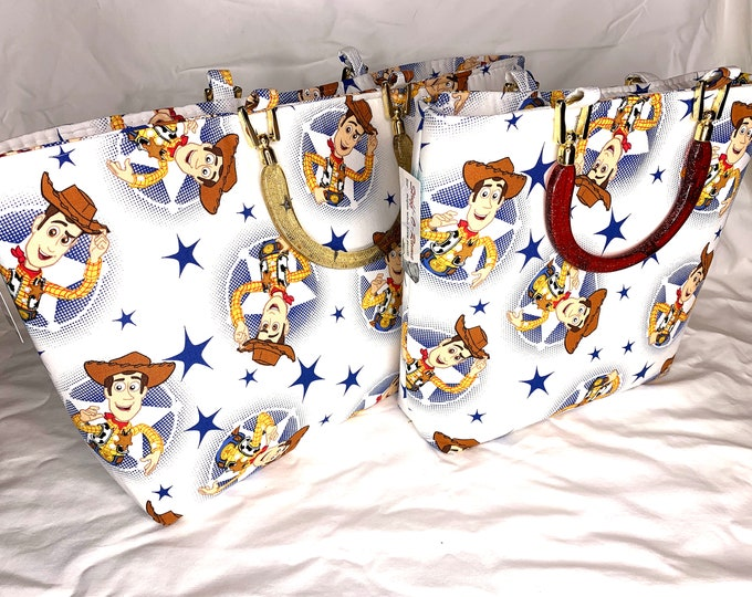 Toy Story - Sheriff Woody - Tote Bag - Purse - Handbag - Bag
