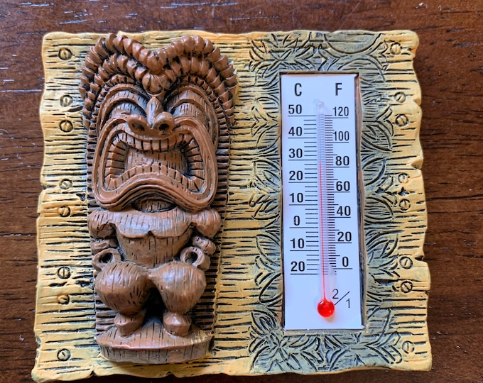 Refrigerator Magnets - Tiki Tapa - Thermometer