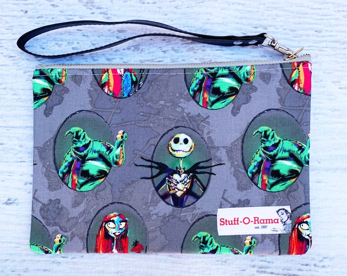 Nightmare Before Christmas - Cameos - Clutch Wallet Wristlet