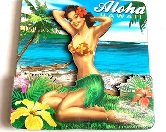 Refrigerator Magnets - Beach Pin Up