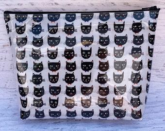 Black Cats - Halloween - Make Up Bag