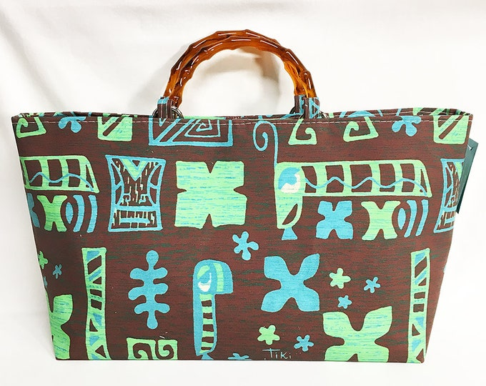 Handbag - Tapa Brown by Tiki Tony