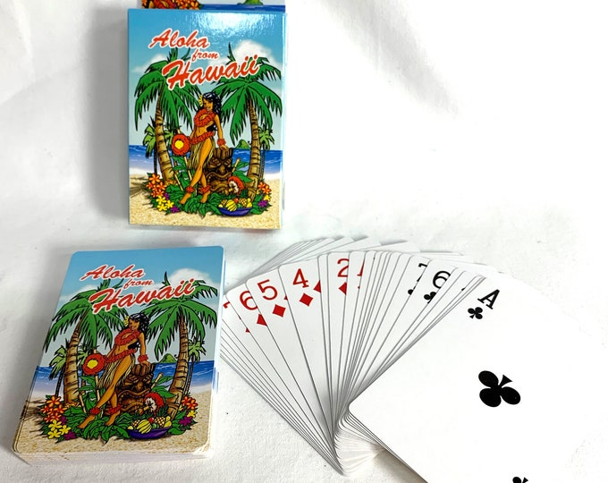 Playing Cards - Hula Girl