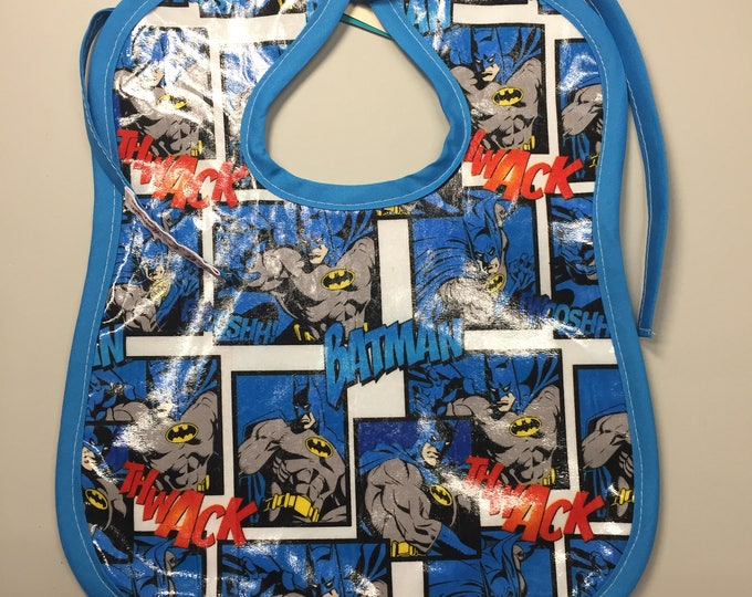 Wipeable Baby Bibs - Batman Comic Dark Knight