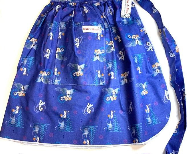 Frozen - Half Apron - Vintage Pin Up Skirt Style