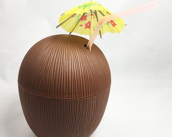 Plastic Cup - Coconut
