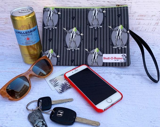 Beetlejuice - Clutch Wallet Wristlet
