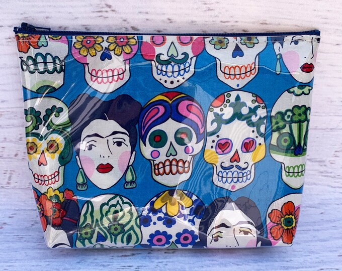 Gotas de Amor - Day of the Dead - Halloween - Make Up Bag