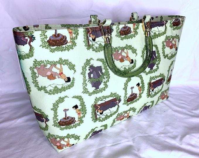 Jungle Book - Vines - Tote Bag - Purse - Handbag