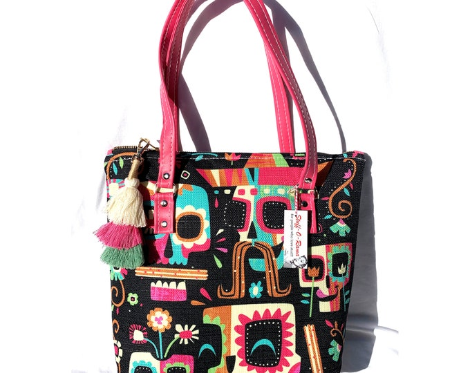 Jeff Granito - Dia De Los Churros - Vinyl Shoulder Bag - Handbag - Purse - Bag - Vegan Leather