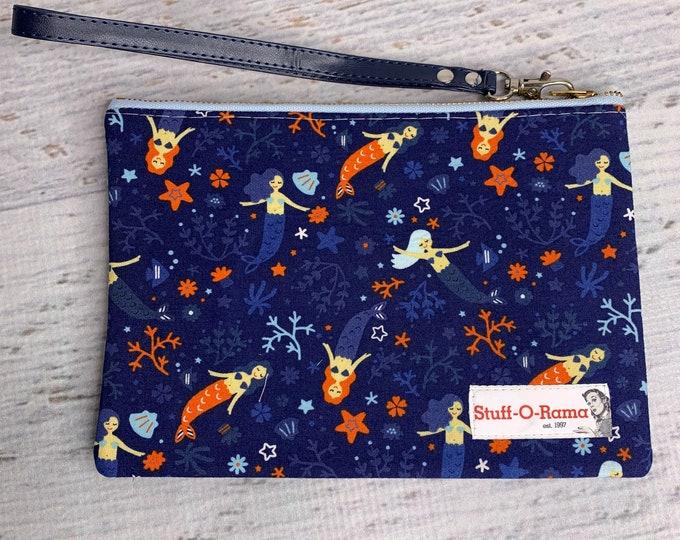 The Little Mermaid - Clutch Wallet Wristlet