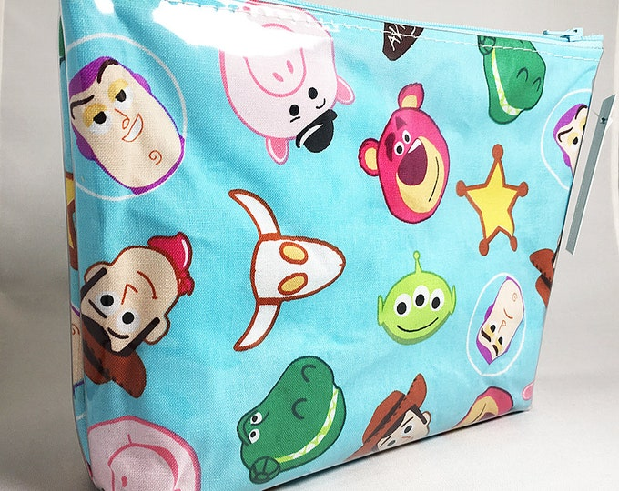 Make Up Bag - Toy Story Emoji Zipper Pouch