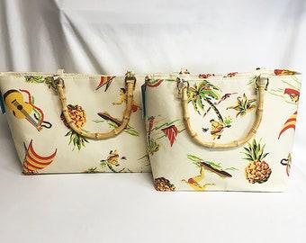 Handbag - Hawaiiana 1a fabric by muhlenkott