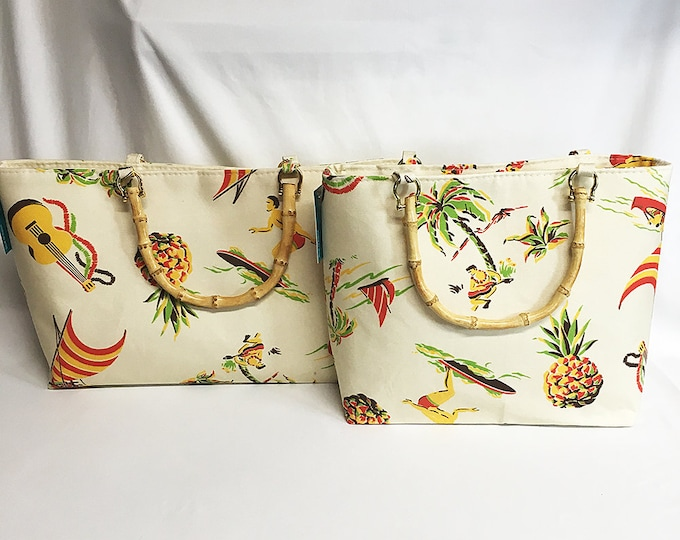Handbag - Hawaiiana 1a fabric by muhlenkott