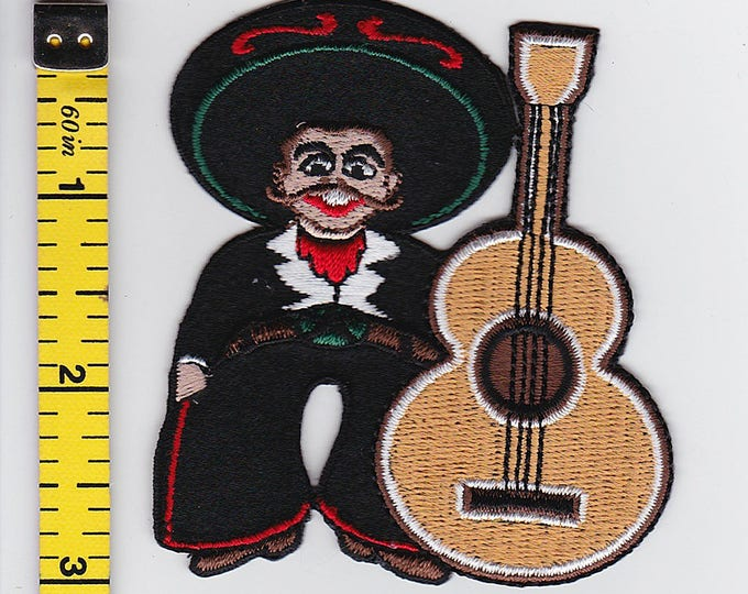 Iron On Patches - Mariachi by Artist Chuck Wagon