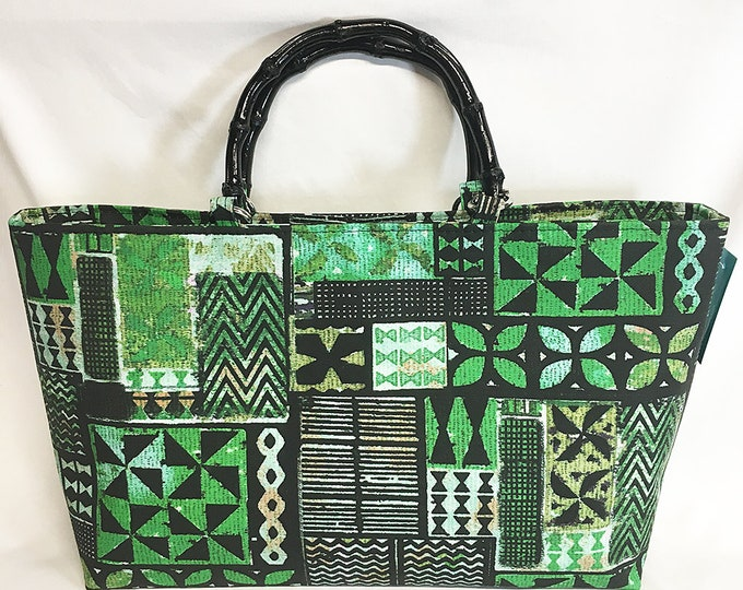 Handbag - Hawaiian Kapa by uhlenkott