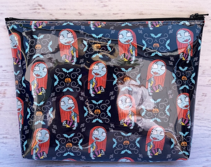 Nightmare Before Christmas - Sally - Black - Make Up Bag
