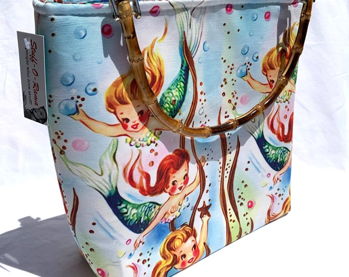 Handbag - Vintage Mermaids