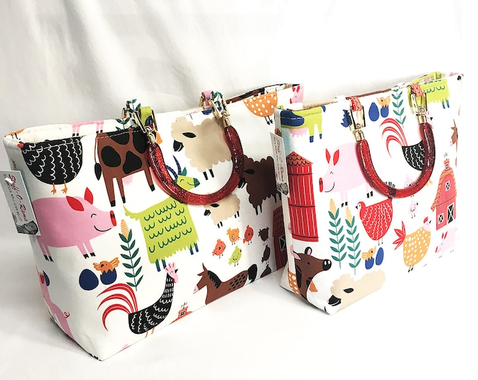 Handbag - Country Farm Animals