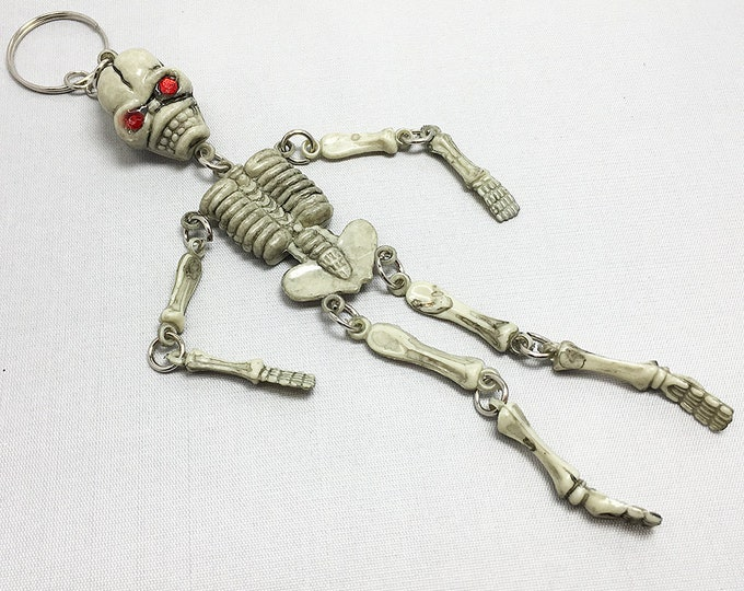 Skeleton Keychain CLOSEOUT SALE! 12 for one dollar