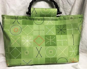Handbag - Bob Staake - Modquilt (Spring) Green