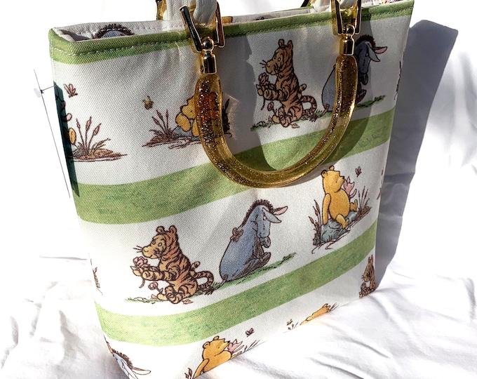 Tote Bag Purse Handbag - Winnie the Pooh