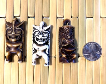 Tiki Charms - Resin Tikis