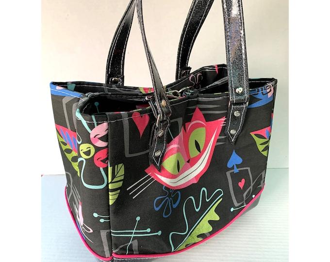 Jeff Granito - We Are All Mod Here - Glitter Vinyl Shoulder Bag - Handbag - Purse - Bag