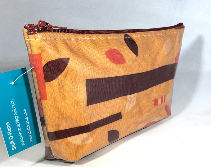 Make Up Bag - Tiki Branches by Brian Rechenmacher BRex Zipper Pouch