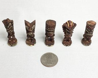 Tiki Mini Figurines