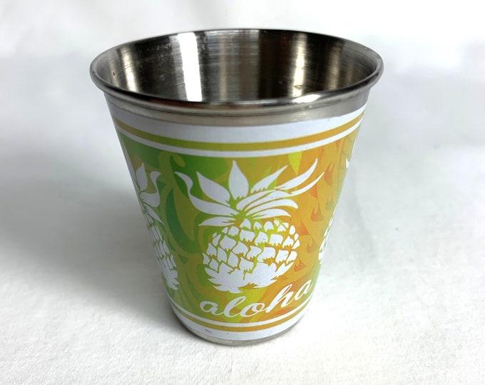 Shot Glass - Pineapple Aloha