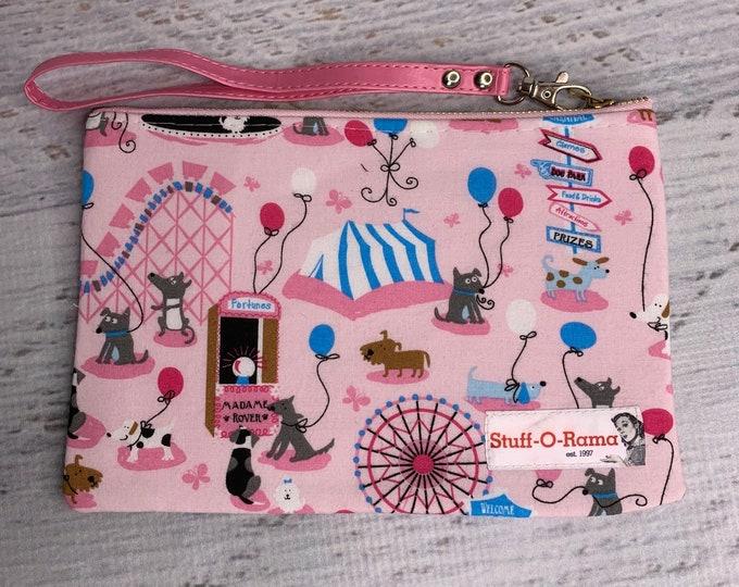 Carnival Dogs - Clutch Wallet Wristlet