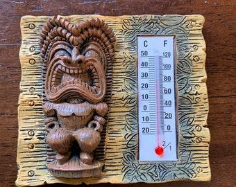 Refrigerator Magnets - Tiki Tapa - Thermometer