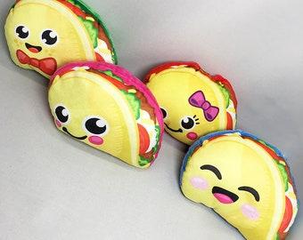 Plush Kawaii Tacos