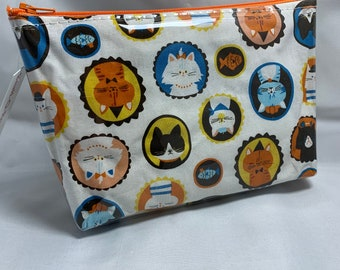 Cat Portraits - Make Up Bag
