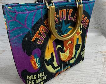 Jack O'loha by Jeff Granito Designs - 2019 Midsummer Scream - Tote Bag - Purse - Handbag - Crossbody Option - Pineapple Pumpkin - Ghosts