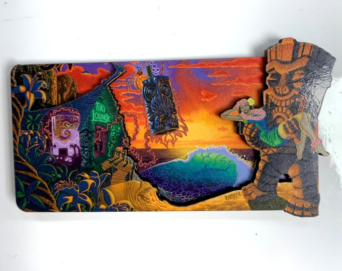 """Refrigerator Magnets - Forbidden Island by Brad """"Tiki Shark"""" Parker"""