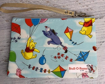 Winnie the Pooh - Blustery Day - Clutch Wallet Wristlet