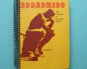Economics recycled book blank journal