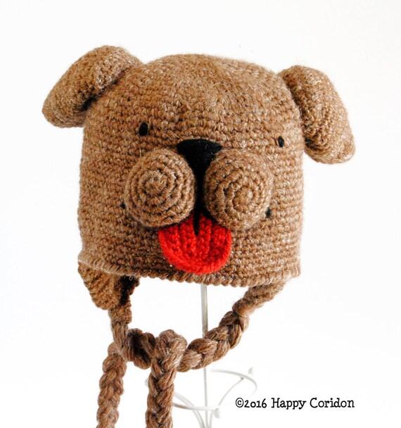 Schema uncinetto Cappello del Super cane magico  e7f4167ea52d